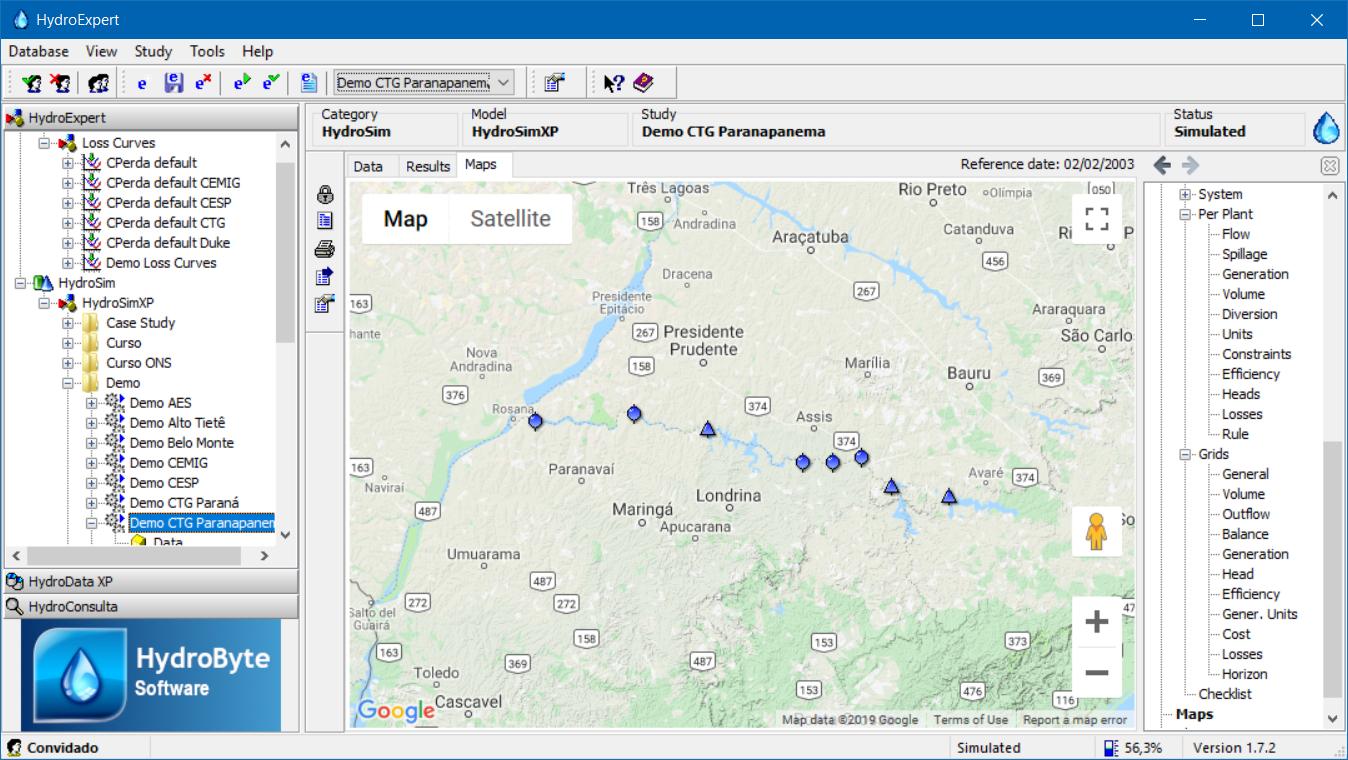 Google Maps integration.